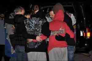 Prayer for homeless outreach